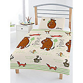 The Gruffalo Woodland 4 in 1 Junior Bedding Bundle Set