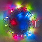 40 Multi Coloured LED Battery Fairy Lights
