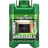 Cuprinol One Coat - Black - 5L