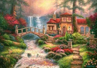 Sierra River Falls - 500pc Puzzle