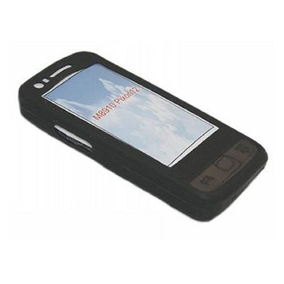 iTALKonline Silicone Case Black - For Samsung M8910 Pixon 12