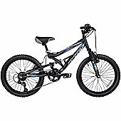 "Hyper Shocker 20"" Wheel Dual Suspension Boys Bike"