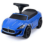 Maserati GranCabrio MC Ride-On Car Toy - Blue