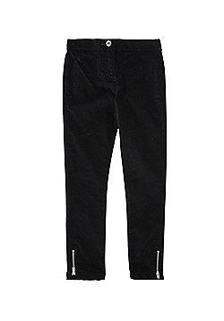 F&F Velvet Jeans - Black