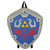 Nintendo The Legend Of Zelda Hylian Shield Grey Backpack 40x47x10cm