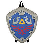 Nintendo The Legend Of Zelda Hylian Shield Grey Backpack 40x47x10cm