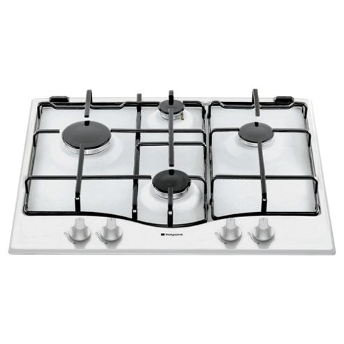 Hotpoint Gas Hob, Newstyle GC640WH, White