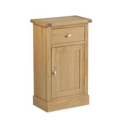 Hampshire Oak Telephone Cupboard - Telephone Table
