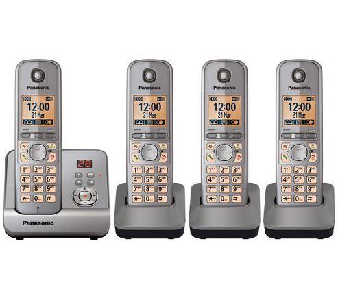 Panasonic KX-TG6724EM Dect cordless telephone - Set of 4