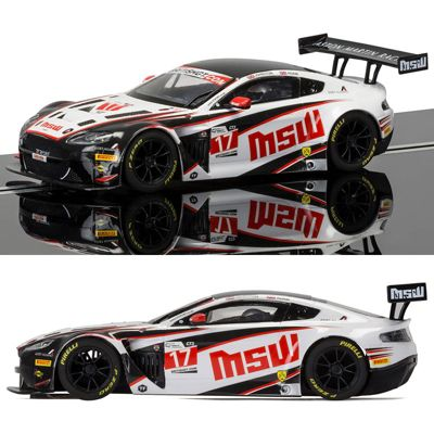 SCALEXTRIC Slot Car C3844 Aston Martin Vantage GT3 TF Sport