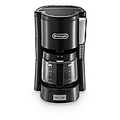 DeLonghi-ICM15240BK Filter Coffee Machine with 1.3L Capacity and 1000W Power