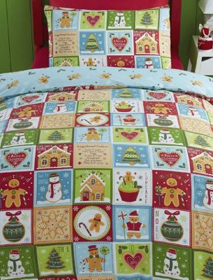 Jolly Gingerbread Double Duvet