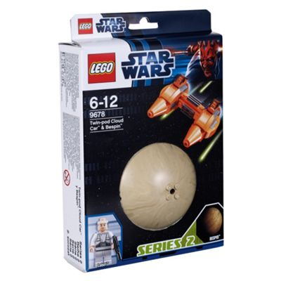 LEGO Star Wars Planets Twin-Pod Cloud Car & Bespin 9678