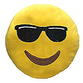 Puckator Emotive Sunglasses Plush Cushion, 27cm