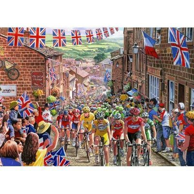Le Tour de Yorkshire - 1000pc Puzzle