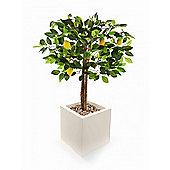 "Artificial 3ft 3"" Lemon Tree"