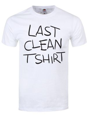 Last Clean Tee White Men's T-shirt