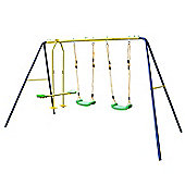 JumpStar Sports 3 Way Swing Set