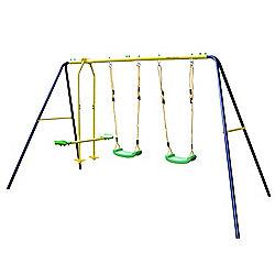 JumpStar Sports Swings & Glider Set