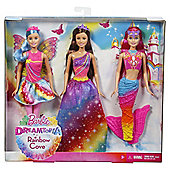 Barbie Dreamtopia Fairytale Doll 3pk (Exclusive)