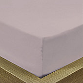 Julian Charles Luxury 180 Thread Count Fitted Sheet - Lilac