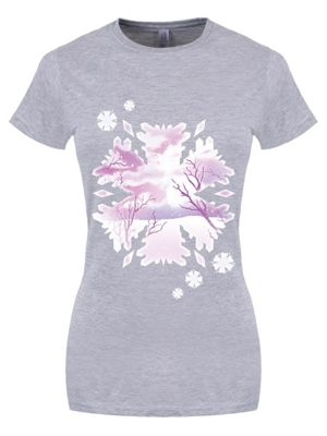 Snowscape Grey Women's T-shirt