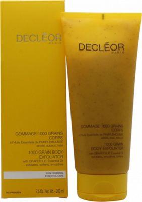 Decleor 1000 Grain Body Exfoliator with Grapefruit Essential Oil 200ml