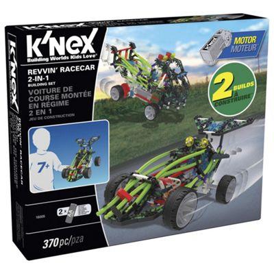 K'Nex Revvin Racecar 2 In 1 Building Set