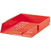 Own Brand WX10055A Contract Letter Tray Red