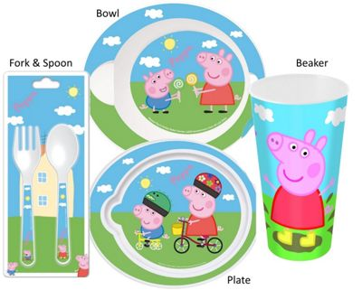 Polar Gear - Peppa Pig Meal Time Cutlery Set - (Plate/Bowl/Beaker  sc 1 st  Tesco & Buy Polar Gear - Peppa Pig Meal Time Cutlery Set - (Plate/Bowl ...