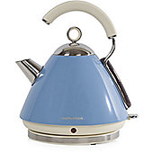 Morphy Richards 102256 Accents Pyramid Kettle - Blue