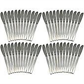 Argon Tableware Set Of 48 Stainless Steel Dinner Knives