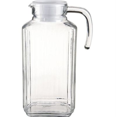 Luminarc Quadro 1.7L Fridge Jug with White Lid
