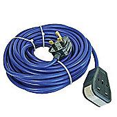 Faithfull Power Plus Trailing Lead 14m 240V 13 Amp 1.5mm Cable