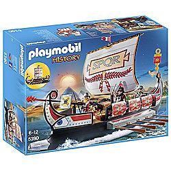 Playmobil 5390 History Roman Warriors Ship
