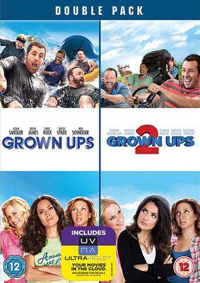 Grown Ups 1 & 2 (DVD)