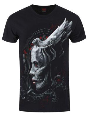 Spiral Dark Fusion Men's T-shirt, Black.