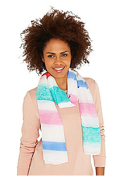 F&F Candy Stripe Scarf - Multi