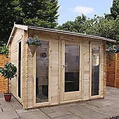 Mercia 3x2.5m Kielder Log Cabin