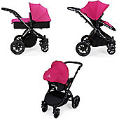 Ickle Bubba Stomp v2 3 in 1 - Pink (Black Chassis)