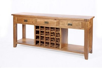 Wiseaction Florence Wine Sofa Table