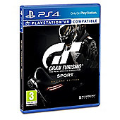 GT Sport Day One Exclusive edition on PS4