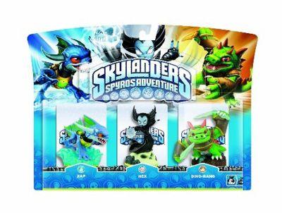 Skylanders - Triple Character Pack - Hex, Zap & Dino-rang