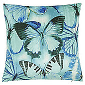 Tesco Velvet Butterfly Cushion