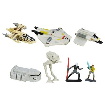 Star Wars Rebels Micro Machines Deluxe Vehicle Pack Rebellion Rising - Dolls and Playsets