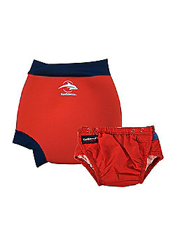 Konfidence Swim Nappy and Neo AquaNappy Red - Red