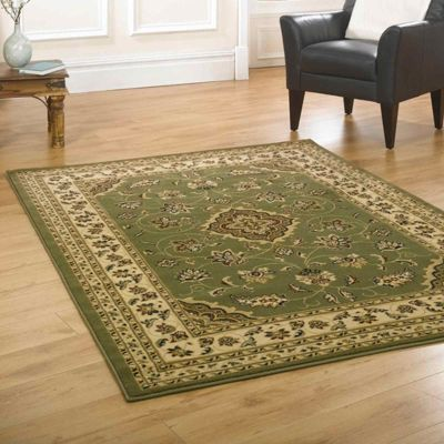 Sherborne Traditional Rugs in Green200x290cm