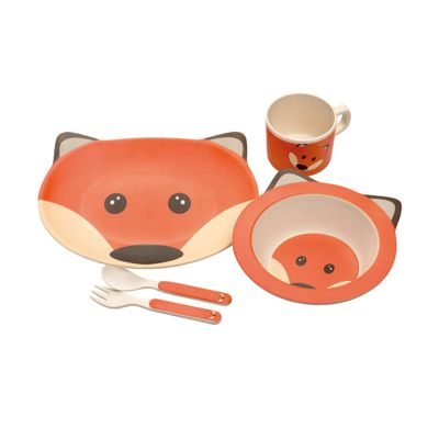 Epicurean Fox Eco Bamboo 5 Piece Kids Set