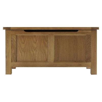 Thorndon Eden Blanket Box in Warm Oak