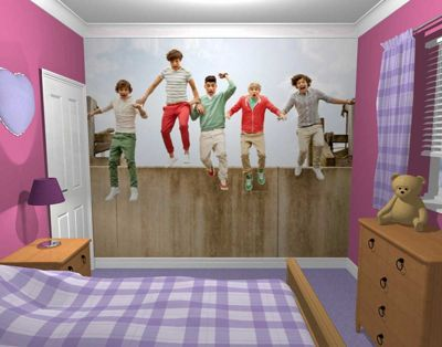 1Wall One Direction Jump Wall Mural
